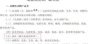 中华人民共和国禁止携带、邮寄进境的 动植物及其产品名录